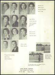 A and M Consolidated High School - Tigerland Yearbook (College Station, TX) online yearbook collection, 1954 Edition, Page 31