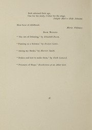 Abbot Academy - Circle Yearbook (Andover, MA) online yearbook collection, 1901 Edition, Page 62