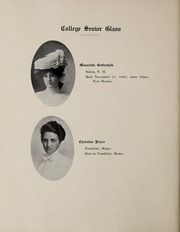 Abbot Academy - Circle Yearbook (Andover, MA) online yearbook collection, 1903 Edition, Page 24