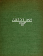 Abbot Academy - Circle Yearbook (Andover, MA) online yearbook collection, 1905 Edition, Cover