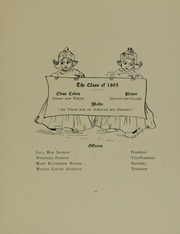 Abbot Academy - Circle Yearbook (Andover, MA) online yearbook collection, 1905 Edition, Page 17