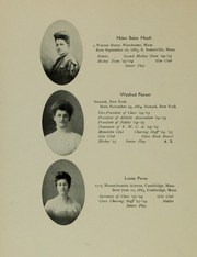 Abbot Academy - Circle Yearbook (Andover, MA) online yearbook collection, 1905 Edition, Page 22