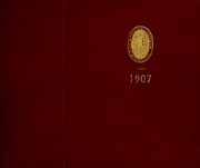 Abbot Academy - Circle Yearbook (Andover, MA) online yearbook collection, 1907 Edition, Cover