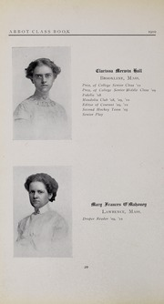 Abbot Academy - Circle Yearbook (Andover, MA) online yearbook collection, 1910 Edition, Page 24
