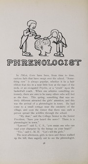 Abbot Academy - Circle Yearbook (Andover, MA) online yearbook collection, 1910 Edition, Page 56