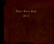 Abbot Academy - Circle Yearbook (Andover, MA) online yearbook collection, 1912 Edition, Cover