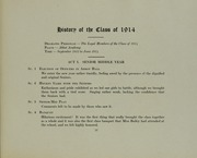 Abbot Academy - Circle Yearbook (Andover, MA) online yearbook collection, 1914 Edition, Page 27
