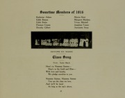 Abbot Academy - Circle Yearbook (Andover, MA) online yearbook collection, 1916 Edition, Page 29