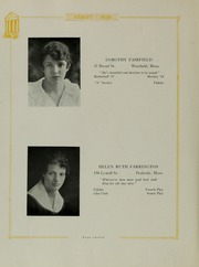 Abbot Academy - Circle Yearbook (Andover, MA) online yearbook collection, 1918 Edition, Page 16