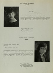 Abbot Academy - Circle Yearbook (Andover, MA) online yearbook collection, 1919 Edition, Page 12