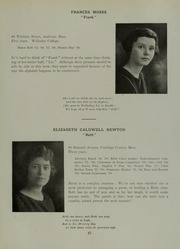 Abbot Academy - Circle Yearbook (Andover, MA) online yearbook collection, 1919 Edition, Page 31