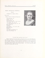 Abbot Academy - Circle Yearbook (Andover, MA) online yearbook collection, 1920 Edition, Page 15
