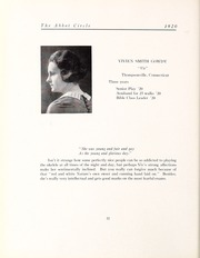 Abbot Academy - Circle Yearbook (Andover, MA) online yearbook collection, 1920 Edition, Page 26