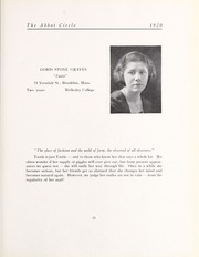 Abbot Academy - Circle Yearbook (Andover, MA) online yearbook collection, 1920 Edition, Page 27