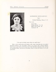 Abbot Academy - Circle Yearbook (Andover, MA) online yearbook collection, 1920 Edition, Page 34