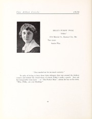 Abbot Academy - Circle Yearbook (Andover, MA) online yearbook collection, 1920 Edition, Page 44