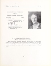 Abbot Academy - Circle Yearbook (Andover, MA) online yearbook collection, 1920 Edition, Page 47