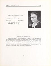 Abbot Academy - Circle Yearbook (Andover, MA) online yearbook collection, 1920 Edition, Page 51