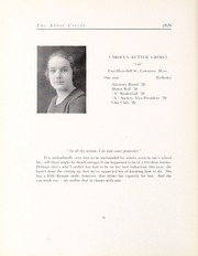 Abbot Academy - Circle Yearbook (Andover, MA) online yearbook collection, 1920 Edition, Page 60