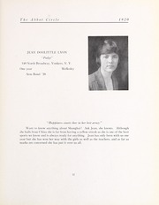 Abbot Academy - Circle Yearbook (Andover, MA) online yearbook collection, 1920 Edition, Page 61