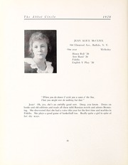 Abbot Academy - Circle Yearbook (Andover, MA) online yearbook collection, 1920 Edition, Page 62