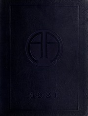 Abbot Academy - Circle Yearbook (Andover, MA) online yearbook collection, 1921 Edition, Cover