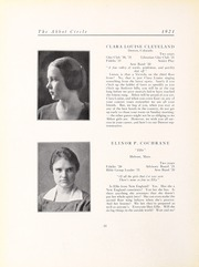 Abbot Academy - Circle Yearbook (Andover, MA) online yearbook collection, 1921 Edition, Page 14