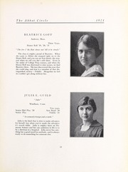 Abbot Academy - Circle Yearbook (Andover, MA) online yearbook collection, 1921 Edition, Page 17