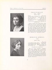 Abbot Academy - Circle Yearbook (Andover, MA) online yearbook collection, 1921 Edition, Page 20