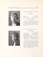 Abbot Academy - Circle Yearbook (Andover, MA) online yearbook collection, 1921 Edition, Page 24