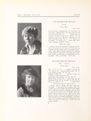 Abbot Academy - Circle Yearbook (Andover, MA) online yearbook collection, 1921 Edition, Page 32