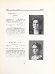 Abbot Academy - Circle Yearbook (Andover, MA) online yearbook collection, 1921 Edition, Page 33
