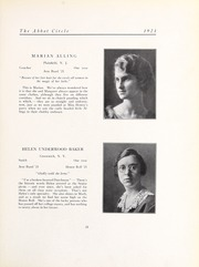 Abbot Academy - Circle Yearbook (Andover, MA) online yearbook collection, 1921 Edition, Page 35