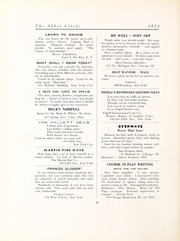 Abbot Academy - Circle Yearbook (Andover, MA) online yearbook collection, 1921 Edition, Page 52