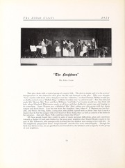 Abbot Academy - Circle Yearbook (Andover, MA) online yearbook collection, 1921 Edition, Page 80