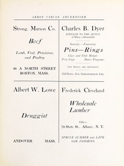 Abbot Academy - Circle Yearbook (Andover, MA) online yearbook collection, 1921 Edition, Page 99