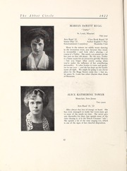 Abbot Academy - Circle Yearbook (Andover, MA) online yearbook collection, 1922 Edition, Page 38