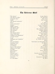 Abbot Academy - Circle Yearbook (Andover, MA) online yearbook collection, 1922 Edition, Page 94