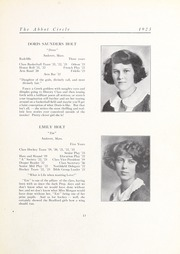 Abbot Academy - Circle Yearbook (Andover, MA) online yearbook collection, 1923 Edition, Page 17