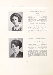 Abbot Academy - Circle Yearbook (Andover, MA) online yearbook collection, 1923 Edition, Page 18