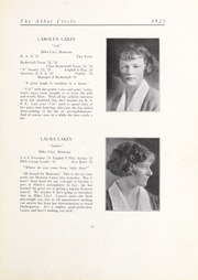 Abbot Academy - Circle Yearbook (Andover, MA) online yearbook collection, 1923 Edition, Page 19 of 108