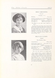 Abbot Academy - Circle Yearbook (Andover, MA) online yearbook collection, 1923 Edition, Page 20