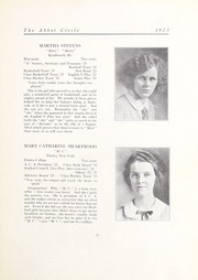 Abbot Academy - Circle Yearbook (Andover, MA) online yearbook collection, 1923 Edition, Page 27