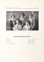 Abbot Academy - Circle Yearbook (Andover, MA) online yearbook collection, 1923 Edition, Page 52