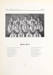 Abbot Academy - Circle Yearbook (Andover, MA) online yearbook collection, 1923 Edition, Page 65