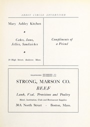 Abbot Academy - Circle Yearbook (Andover, MA) online yearbook collection, 1923 Edition, Page 99