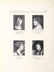 Abbot Academy - Circle Yearbook (Andover, MA) online yearbook collection, 1924 Edition, Page 18 of 142