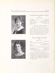 Abbot Academy - Circle Yearbook (Andover, MA) online yearbook collection, 1924 Edition, Page 24