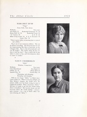 Abbot Academy - Circle Yearbook (Andover, MA) online yearbook collection, 1924 Edition, Page 25