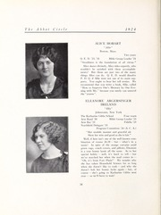 Abbot Academy - Circle Yearbook (Andover, MA) online yearbook collection, 1924 Edition, Page 32